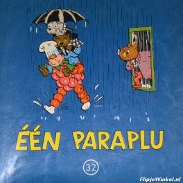 32 Éen paraplu